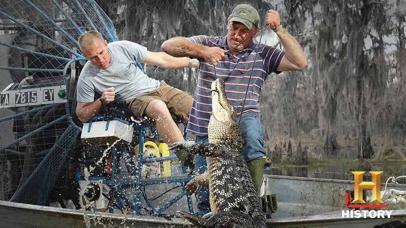 לוכדי התנינים: עונה שביעית לריאליטי ''אנשי הביצות''