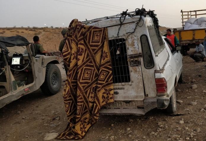 """מדיניות צה""""לית חדשה: מחרימים רכבים לפלסטינים בבקעה"""