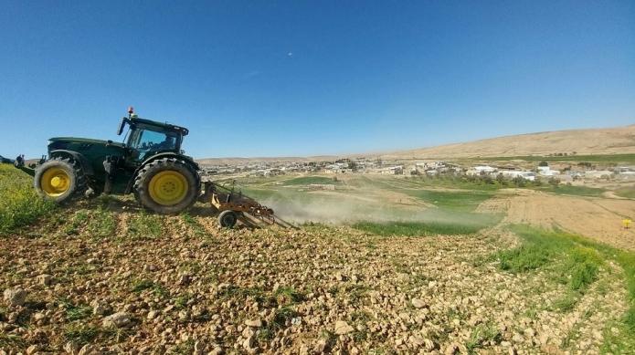 רשות מקרקעי ישראל פינתה למעלה מ11,500 דונם בנגב שנזרעו בניגו...