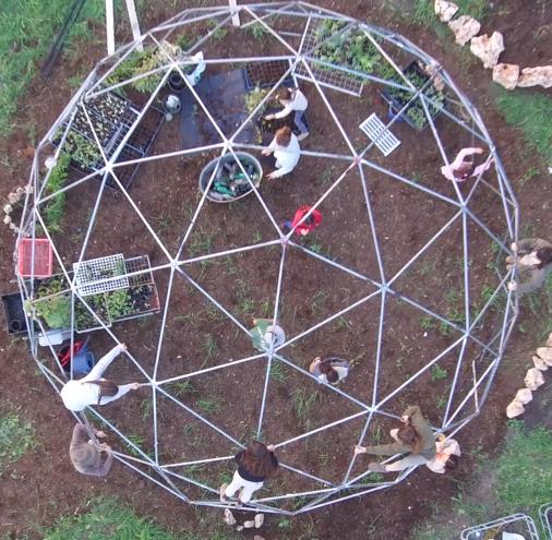 התחלה חדשה: הגן הסולארי עבר למתחם חדש