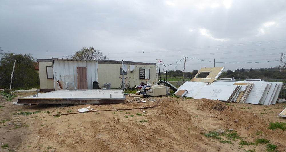 רשות מקרקעי ישראל פינתה תושב ניצן שהשתלט על קרקעות מדינה