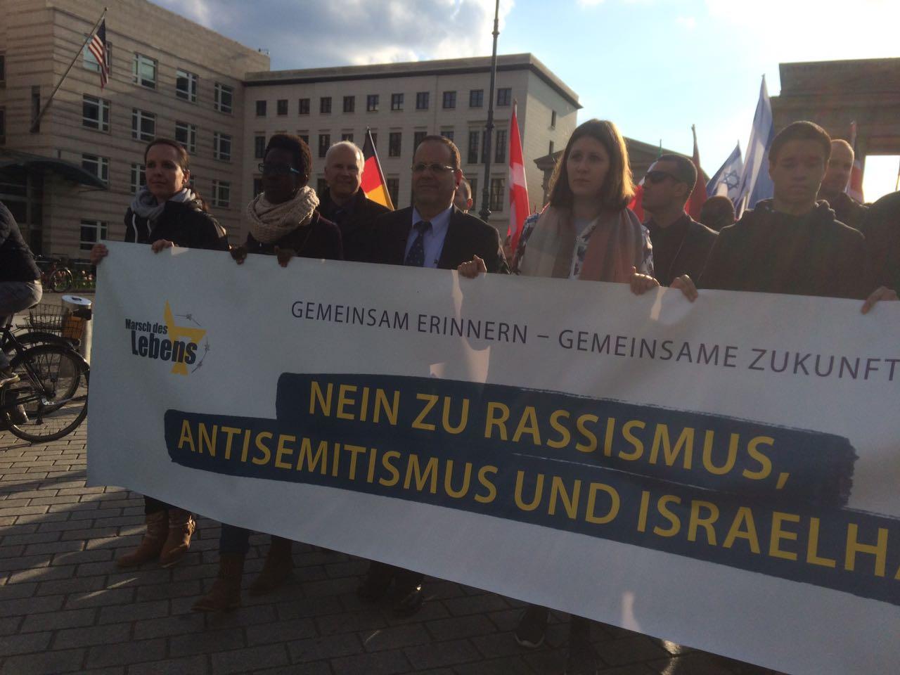השר איוב קרא במצעד החיים הבינלאומי בברלין: ישראל היא הדמוקרט...